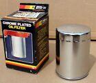 VINTAGE NOS MR GASKET CHEVY V8 350/454 LONG CHROME OIL-FILTER #6741