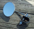 Universal Mount 4 inch Round Mirror for Harley Davidson Metric or Scooter