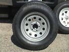 ST205/75D15 TRAILER TIRE 6 PLY ASSEMBLY NEW !  -SAVE $$- SEE DETAILS BELOW