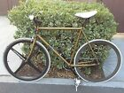 Rare 57cm Pake Dirty Gold Track Bike (Fixie) w/Matching Fork - Limited Edition