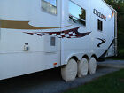 6 Tire & Wheel Covers Tri Axle Toy Hauler Camper 5th Trailer six Fifth rim cover