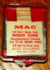 "NOS MAC BRAKE CYLINDER HONE TOOL ""NEW OLD STOCK"", No. CF 64-1 FITS OTHER BRANDS"