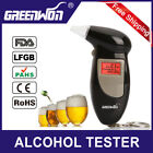 Professional  Digital LCD Alcohol Breath Analyzer Breathalyzer Tester Key chain