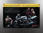 VINTAGE DUCATI ST2 IMAGE BANNER NOS IMAGE REPRODUCTION