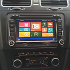 "RNS-Style 7"" Touch-Screen Sat-Nav/DVD/iPod/Bluetooth/GPS/AUX for VW Golf MK 6"