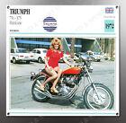VINTAGE Triumph 1972 750 X75 Hurricane IMAGE BANNER NOS IMAGE REPRODUCTION