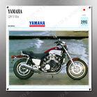 VINTAGE Yamaha 1200 V-Max IMAGE BANNER NOS IMAGE REPRODUCTION
