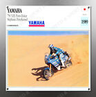 VINTAGE Yamaha 1989 750 YZE Paris-Dakar IMAGE BANNER NOS IMAGE REPRODUCTION