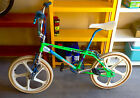 1985 HARO MASTER - ACID GREEN FREESTYLER BMX - Collectors Bicycle Bike