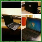 Compaq laptop. Refurbished. Comes with case and power supply cord. Good quality