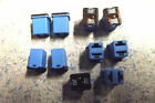 10 FMX 20 AMP BLUE,NEW SHORT PAL FUSES USED ON FORD VANS&TRUCKS &OTHER FORD CARS