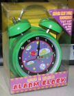 Space Invaders Green  Alarm Clock Rise & Smile Brand New