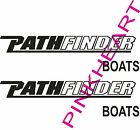 Pathfinder Boats decals pair sticker decal boat flats graphic path finder boat