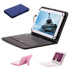 "iRULU Tablet PC 10.1"" Android 5.1 Lollipop Dual Cam HD 16GB w/ 4 Color Keyboard"