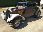 Willys : Coupe Chopped 1933 WILLYS COUPE ALL STEEL CHOPPED GASSER BLOWER  VINTAGE SPEED WILLFORD SCTA