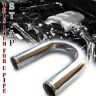 "Universal 3"" Aluminum 1Pcs Turbo Intercooler/Intake 180° Degree U-Pipe Piping"