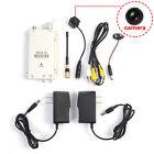 Hidden Pinhole Wireless Nanny Camera CCTV Security Surveillance + Receiver IN US