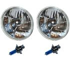 5-3/4 Crystal Clear Halogen Headlight Headlamp Sw 60/55W H4 Light Bulbs Pair