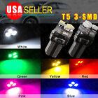 4 10 20 PCS T5 Wedge Speedometer Gauge Cluster Dashboard LED Light Bulb 37 73 74