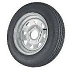 ST175/80R13  5X4.5 3.19 CB Radial  Trailer Tire & 5 Lug Galvanized Spoke Wheel