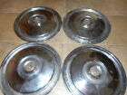 1955-56 FORD HUBCAPS/SET OF FOUR