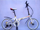 """Brand New Qisi 20"""" Folding Bike SHIMANO 14 speed disc brake"""