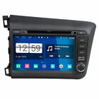 "Quad Core, 16GB, 1024×600, New Android 4.4.4 OS for 8"" CIVIC 2012 Stereo GPS TV"