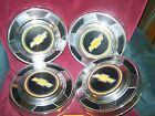 1973-1987 CHEVROLET K10 Suberban HUBCAPS NICE set of 4 Hub Caps  10 1/2in