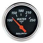 AutoMeter 1436 Designer Black Water Temperature Gauge