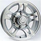 "16"" Aluminum Split Spoke 6-Lug Trailer Wheel Rim (6"" Width)"