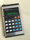 BROTHER  408AD 408 Vintage Electronic Calculator  Japan Collectible