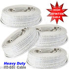 SVX 100ft Premade RG59 Combo Siamese CCTV Coaxial BNC Cable for HD-SDI Camera