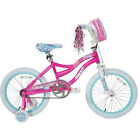 Misty Next 18 inch Girl's Bike with Bag and Training Wheels Pink