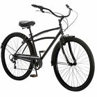 "29"" Midway Men's Cruiser Bike 7-speed Shifters with Shimano Black"