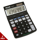 Victor 1180-3A Antimicrobial Desktop Calculator 12-Digit LCD [3 PACK]