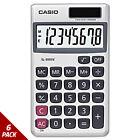 Casio SL-300SV Handheld Calculator 8-Digit LCD [6 PACK]