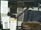 HP 41C Programmable Calculator with Math, X Function & Aviation packs