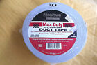 """NASHUA WHITE DUCT TAPE #398,MAX DUTY,1.89""""X60YD WEIGHS 1LB,6 OZ NET,MADE IN USA"""