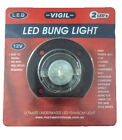 Boat Bung Light LED 12 Volt Bung & Base Underwater Transom Light 2 LED Bulbs New