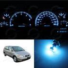Full Set Dash Meter Gauge Cluster Ice Blue LED Bulbs for 1999-2004 Honda Odyssey