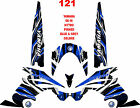 YAMAHA NYTRO SNOWMOBILE WRAP DECAL STICKERS 05-15 PINNED DELUXE