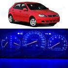 Full Kit Instrument Speedometer Ultra Blue LED Lights for 2007-2008 Suzuki Reno