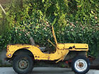 Willys: M38  Military 1951 51 willys jeep m 38 military korean war army jeep