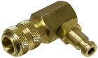 90° Connector for #8100 Diesel Com. Gauge Set T&E Tools 8100-C6