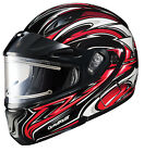 HJC 1245-1201-03 CL-Max 2 Atomic Electric Snowmobile Helmet XSM Red