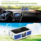 Solar Portable Car Home Oxygen Aroma Diffuser Air Purifier Ionizer Anion