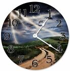"LIGHTNING STORM Clock - Large 10.5"" Wall Clock - 2265"