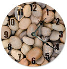 "ROCKS AND STONES Clock - Large 10.5"" Wall Clock - 2273"