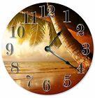 "PALM TREES Clock - Large 10.5"" Wall Clock - 2082"