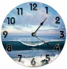 "OCEAN SURF WAVES Clock - Large 10.5"" Wall Clock - 2123"